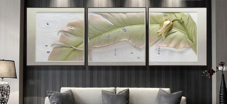 Tranh phù điêu 3D nổi tinh hoa việt nam
